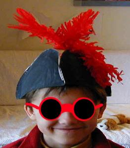 Chapeau tricornes à fabriquer pour les déguisements d'enfants