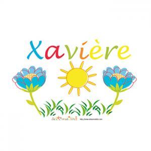 prénom Xaviere