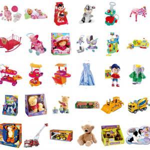 Imprimer la planche de jouets. Une planche de jouet à imprimer pour aider votre enfant à faire sa liste au père noel