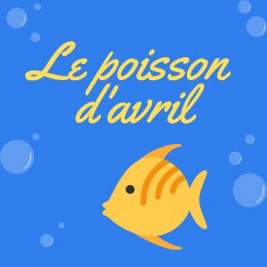 """imprimer """"poisson d'avril"""", un joli poème pour illustrer la farce du 1er avril. Le poème est accompagné d'un coloriage"""