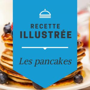 Imprimer la recette de la pâte à pancake illustrée. Une recette illustrée qui permettra aux enfants de pouvoir être plus autonome