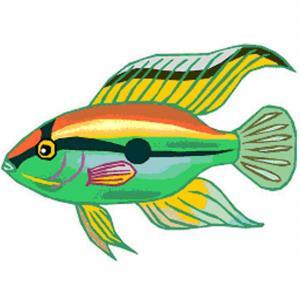 Imprimer le poisson d'avril à découper 10. Un poisson à découper pour le 1er avril