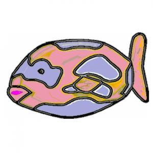 Imprimer le poisson d'avril à découper 6. Un poisson à imprimer pour le 1er avril