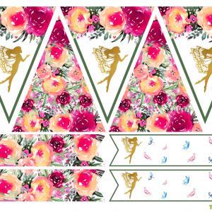 Imprimez gratuitement de la décoration féérique grâce à ce Kit pour anniversaire de fée
