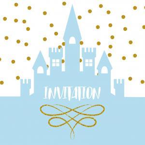 Imprimez gratuitement une invitation pour un anniversaire de princesse. Ces très jolies invitation seront parfaite afin de prévenir les autres enfants quand et où se déroulera l'anniversaire de votre enfant. copie