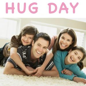 Journée internationale du câlin ou « Hug day »