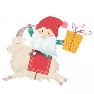 Dans l'histoire de Noël scandinave, Jul Tomte est le petit homme de Noël et l'équivalent de notre père Noël. A quoi ressemble t-il ? Petites explications sur l'histoire de Jul Tomte.