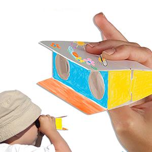 Jumelles pour enfant à colorier
