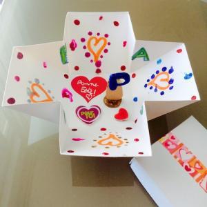 tuto pour bricoler avec les enfants une boîte pop-up pour la fête des pères