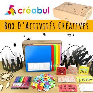 Une Box Créative tous les mois contenant 4 belles activités créatives pour votre enfant. La Box Tête à modeler est crée chaque mois pour permettre à votre enfant de s'amuser avec des activités qui stimulent sa créativité et son agilité intellectuelle tout