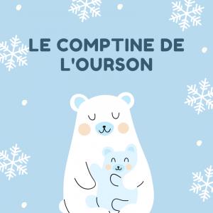 La comptine de l'ourson est une chanson d'hiver qui sera très drole à faire pour noel. Apprenez la en famille et chantez la en decembre sur les marches de noel.