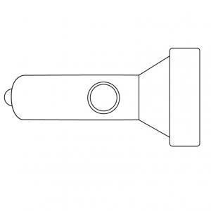 Imprimez gratuitement ce coloriage de lampe torche qui vous permettra de recréer l'activité de la maison hantée d'Halloween éclairée. Cette lampe torche vous permettra de voir dans la nuit noire d'Halloween afin de vous laisser découvrir les montres et le