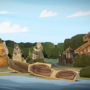 Un épisode de la série Notre histoire sur le quotidien des hommes préhistoriques