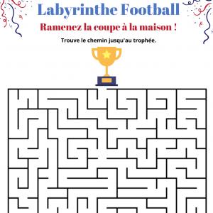 Labyrinthe sur le foot