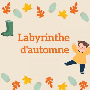 Imprimez le jeu de labyrinthe et demandez à votre enfant d'aider  l'araignée à rejoindre le centre de sa toile. Un jeu de labyrinthe à imprimer pour jouer sur l'automne -