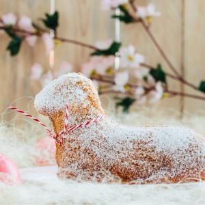 Le lamala de Pâques est une spécialité alsacienne. Une pâtisserie en forme de petite agneau.