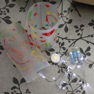 activité de bricolage enfant pour réaliser une lanterne photophore