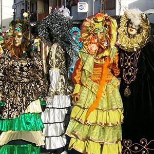 touloulou carnaval des Caraïbes et d'Amérique du sud
