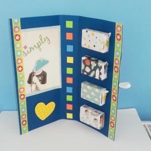 tuto pour bricoler avec les enfants un livre boîtes à surprises pour la Fête des pères