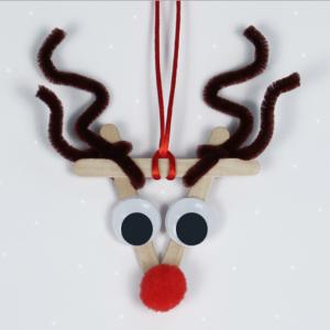 Activité de bricolage enfants pour réaliser un sapin de Noël