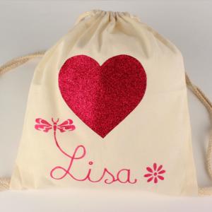 Activité enfant pour personnaliser un sac à dos en coton