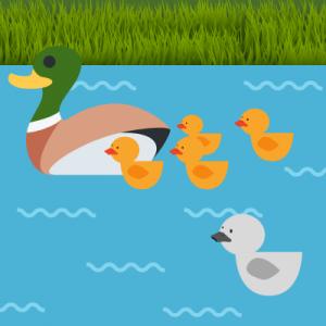 Le vilain petit canard - Andersen