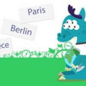 Un jeu éducatif en ligne pour apprendre à différencier les pays de l'union européenne et connaître les capitales