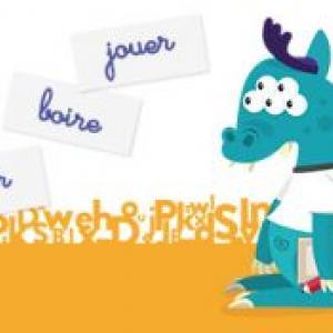 Un jeu éducatif de francetv éducation pour distinguer les différents groupes de verbes