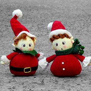 Les lutins du Père Noël, bricolages lutins
