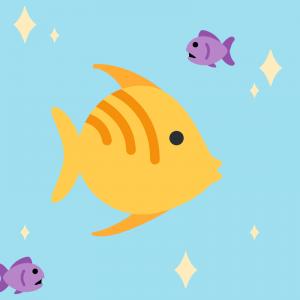 Les petits poissons dans l'eau ..  Paroles de la chanson à imprimer afin de chanter cette chanson en famille. Cette chanson est parfaite pour les petits comme pour les grands afin de faire travailler leur mémoire.