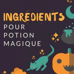 Ingrédients d'Halloween : voici une liste d'ingrédients imaginaires pour vus aider à trouver vos idées de recettes pour Halloween