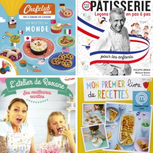 Depuis quelques années, on voit arriver de plus en plus de livres de cuisine pour les enfants dans les rayons de nos libraires. On avait envie de vous présenter nos 13 préférés pour passer du temps de qualité avec les enfants et leur proposer des ac