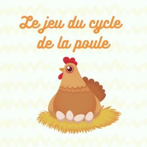 Activités pour apprendre le  cycle de la poule. Qu'est ce qu'il se passe dans l'oeuf , comme l'oeuf devient une poule , quelles sont les parties de la poule. Trouvez toutes les réponses sur cette page.