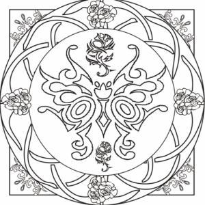 Un nouveau coloriage inspiré des motifs Art Déco. Un coloriage à la croisée du mandala et des vitraux en carré. Un coloriage qui demandera précision et concentration à votre enfant.