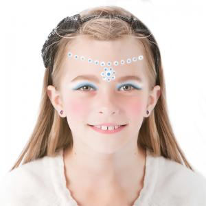 Maquillage de Princesse des Neiges au diadème