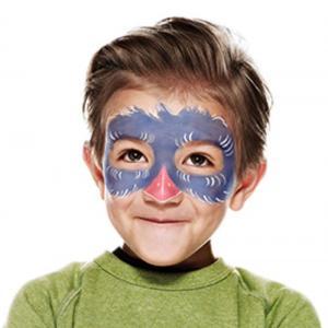 Tutoriel pour apprendre à maquiller son enfant en Perroquet