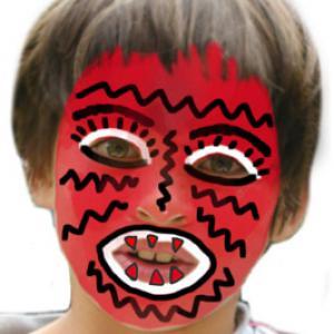 Comment réaliser un maquillage de monstre simple et très facile à faire pour déguiser un enfant en monstre. Avec ce maquillage il sera facile de trouver quelques vêtements dans la penderie pour transformer votre enfant en monstre effrayant pour Halloween