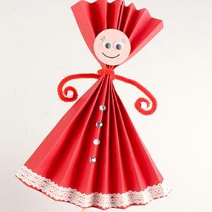 tuto pour une activité enfants pour réaliser des marionnettes en papier