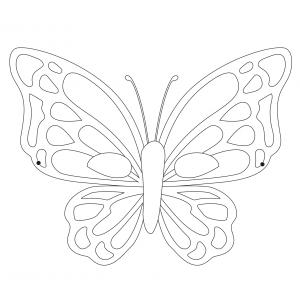Imprimer le coloriage masque de papillon 3. Masque à imprimer et à colorier pour le carnaval