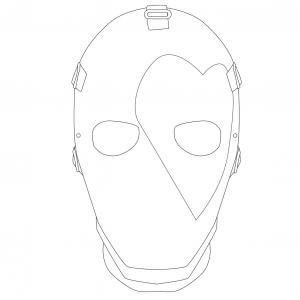 Un masque Fortnite afin de se déguiser en Joker Coeur. Il suffit d'imprimer le masque, de le colorier et votre enfant pourra jouer à Fortnite dans la vraie vie. N'oubliez pas d'imprimer le masque sur du papier épais afin qu'il soit plus résistant.