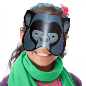 Masque gorille à gommettes