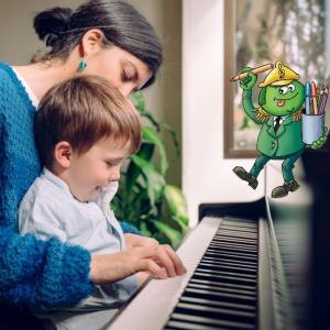 Découvrez une méthode pour l'apprentissage du piano à destination des enfants de 3 à 10 ans qui repose sur la magie et l'amusement