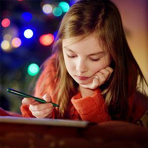 Modèles de lettre au Père Noël à imprimer pour écrire au Père Noël. Un modèle illustré ou à illustrer pour envoyer sa lettre au Père No&am