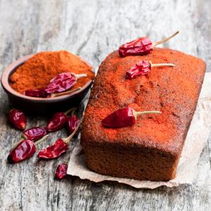 Une idée de recette de cake au piment d'Espelet pour l'apéritif ou pour les amateurs de piment. La dose de piment est à adapter en fonction des goûts de chacun.