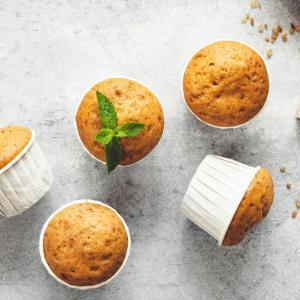 Muffin noisette en poudre : Des muffins au bon goût de noisettes ! Ces petits muffins à la noisette sont à savourer à l'heure du thé ou du goûter que ce soit avec ses amies ou avec les enfant