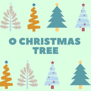 chanson O christmas tree. Paroles pour carnet de chants et musique. Chanson de Noël en anglais