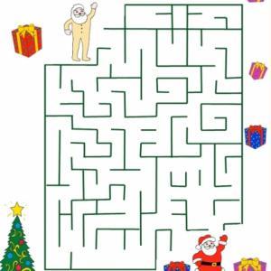 Un jeu d'observation. Un jeu à imprimer pour développer ses capacités d'observation et de comparaison ! Votre enfant peut-il trouver le plus grand Père Noël ?