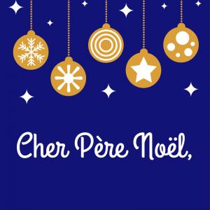 """Du papier à lettre à lignes pour permettre une écriture plus facile de la lettre au Père Noël"""" 1=""""Papier à lettre Père Noël : papier ancien - Tête &amp"""