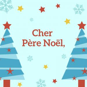 """Une feuille de papier à lettre à ligne à imprimer pour écrire une lettre au Père Noël. Les lignes aideront votre enfant à écrire droit !"""" 1=""""Papier &agrave"""