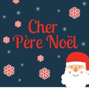 """Papier à lettre au Père Noël préparer pour que votre enfant n'oublie ni son nom ni son adresse ! Le Père Noël pourra ainsi lui répondre."""" 1=""""Papier à lettre P&am"""